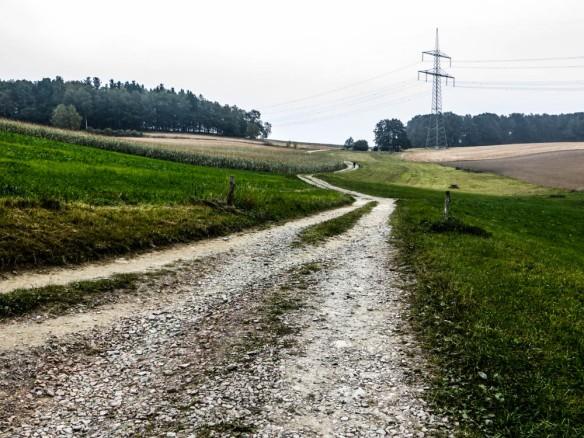 1. Anstieg von Klaffenbach hinauf zum Eisenweg