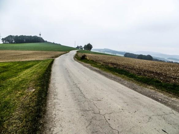 weiter geht es einige Meter auf dem Eisenweg in Richtung Burkhardtsdorf