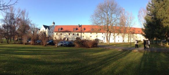 Schlosshotel Eingang