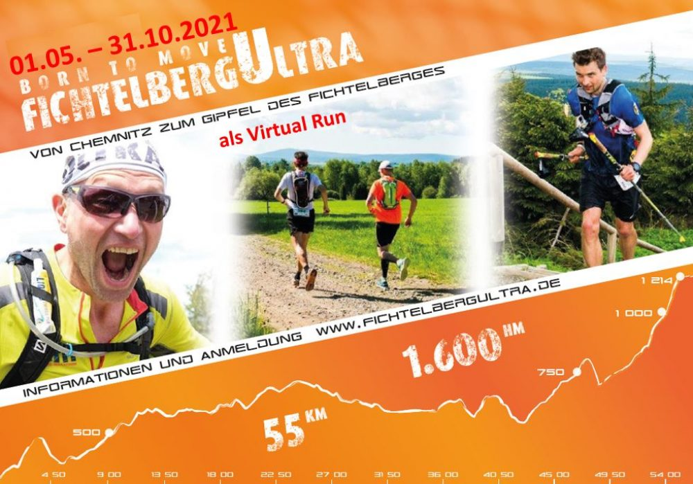 FichtelbergUltra Virtual Run 01.05. – 31.10.2021